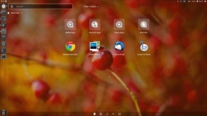 menu dash de Unity en Ubuntu 11.10