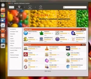 Centro de Software de Ubuntu 11.10